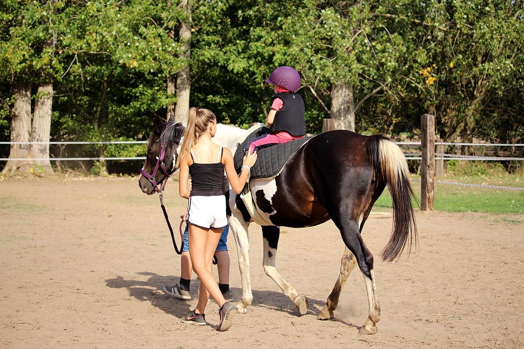 Ponyreiten für Kinder mit Tabeth auf Grundstein 8